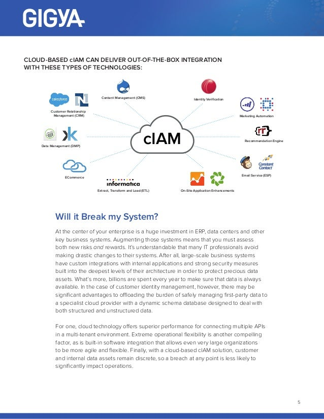 White Paper Ciam In The Cloud What S In It For You