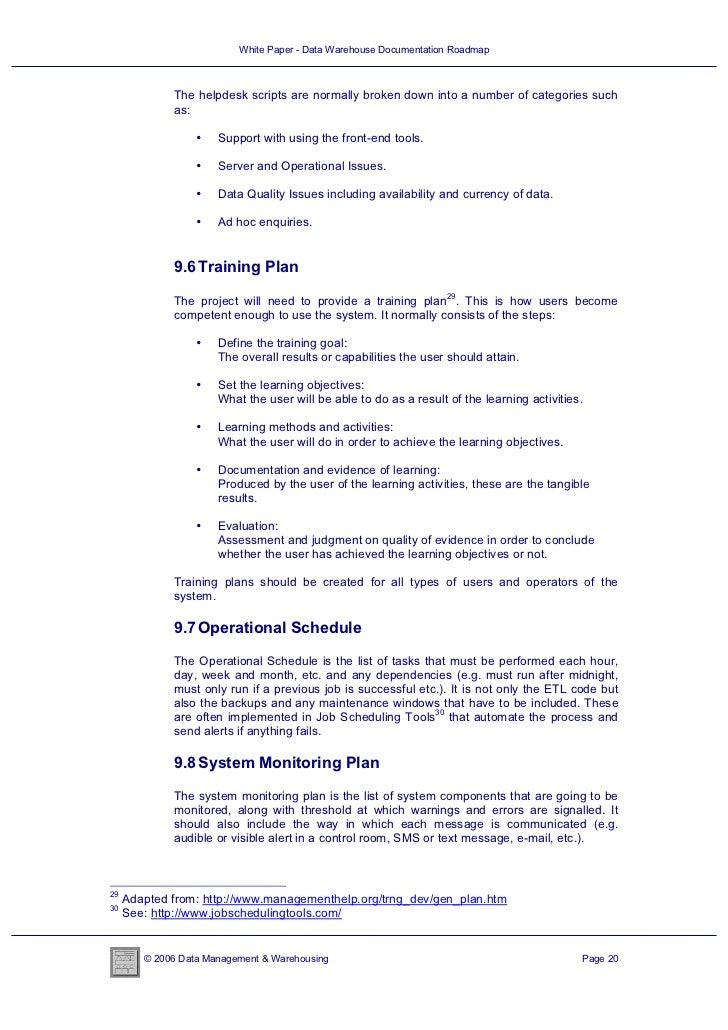 White paper data warehouse documentation roadmap 20 728gcb1333518136 2006 data management warehousing page 19 20 pronofoot35fo Choice Image