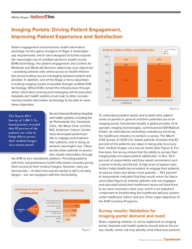 White Paper | Patient engagement and electronic health information exchange are the game changers of Stage 2 meaningful us...