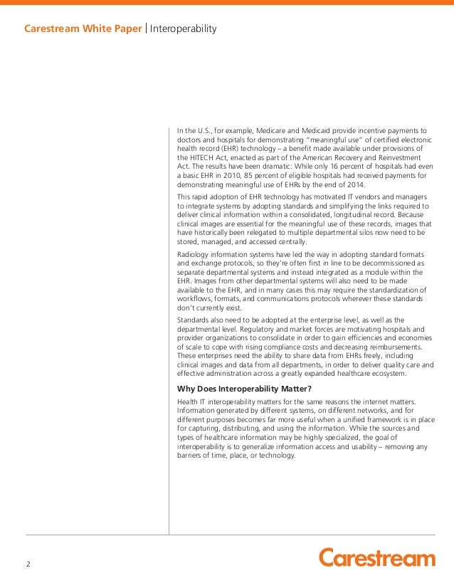 interoperability case essay Interoperability paper essay sample  this would be used for case management and case relationships, in the foster care system this would include medication lists .