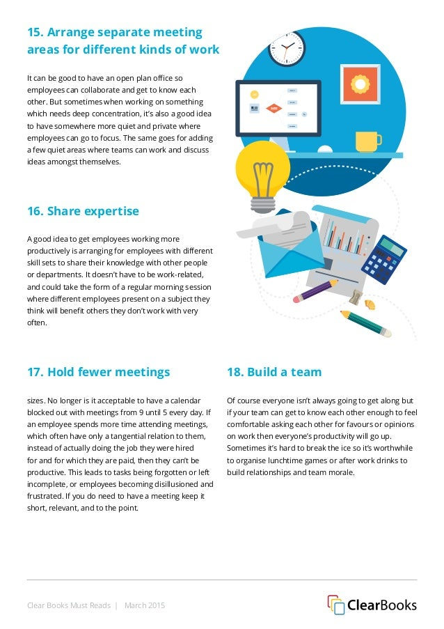 improving workplace productivity 6 ways to improve productivity at the workplace employees spending long hours in the office are not an uncommon sight these days but how much of the work day is.