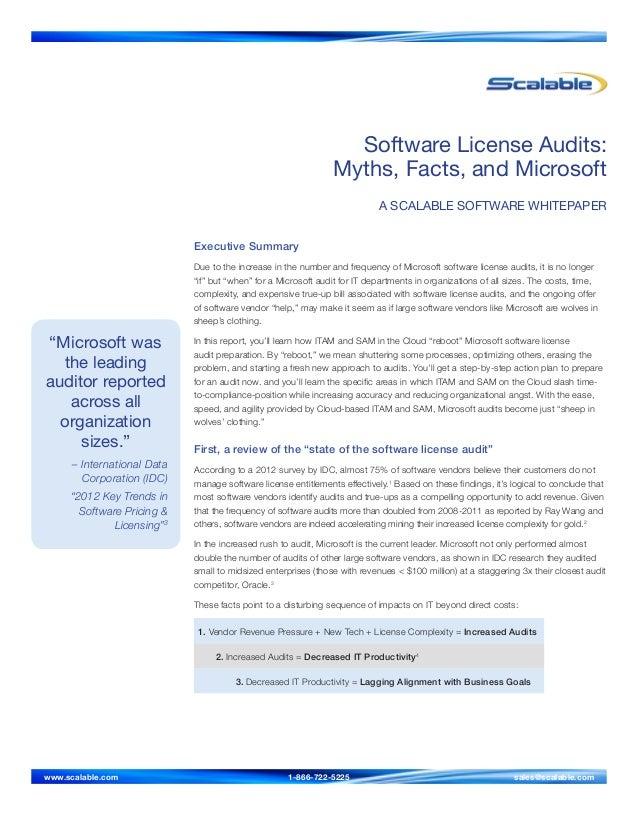 """Microsoft wasthe leadingauditor reportedacross allorganizationsizes.""– International DataCorporation (IDC)""2012 Key Trend..."