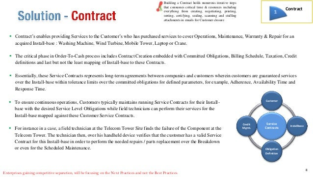 knowing about business long term service contracts