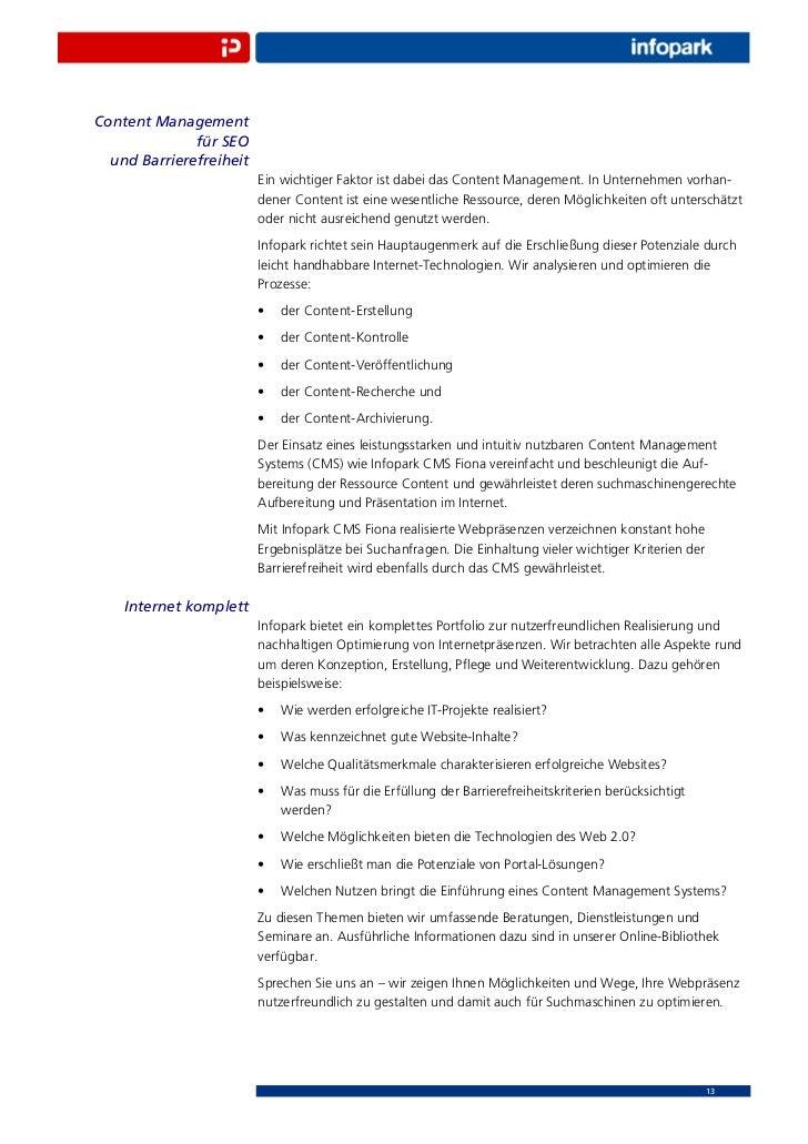 Content Management              für SEO  und Barrierefreiheit                         Ein wichtiger Faktor ist dabei das C...
