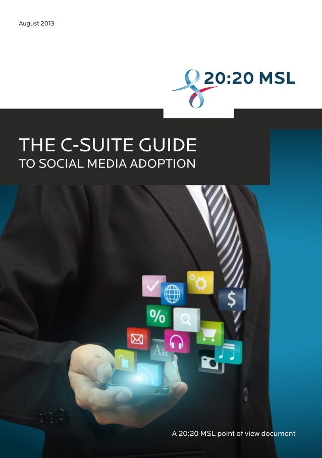 The C-Suite Guide to Social Media Adoption