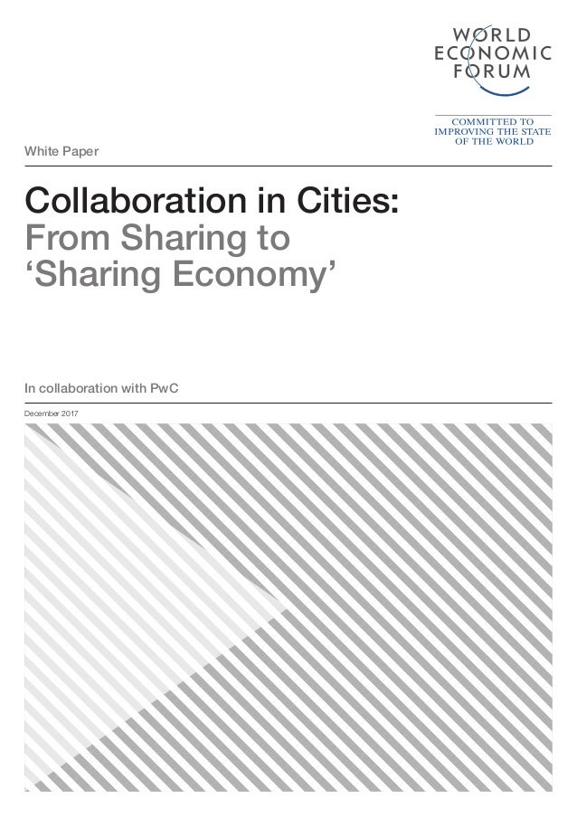 Collaboration In Cities From Sharing To Sharing Economy