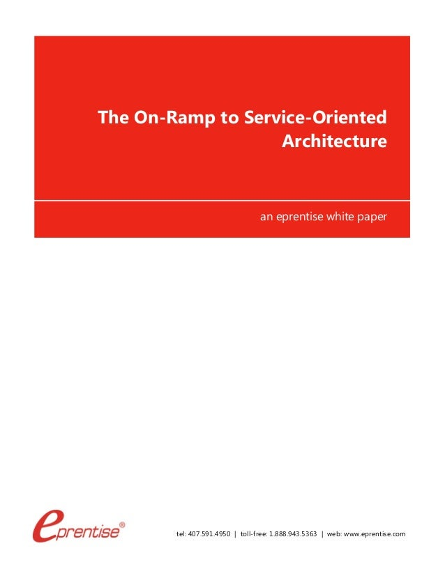 Term paper the service-oriented architecture