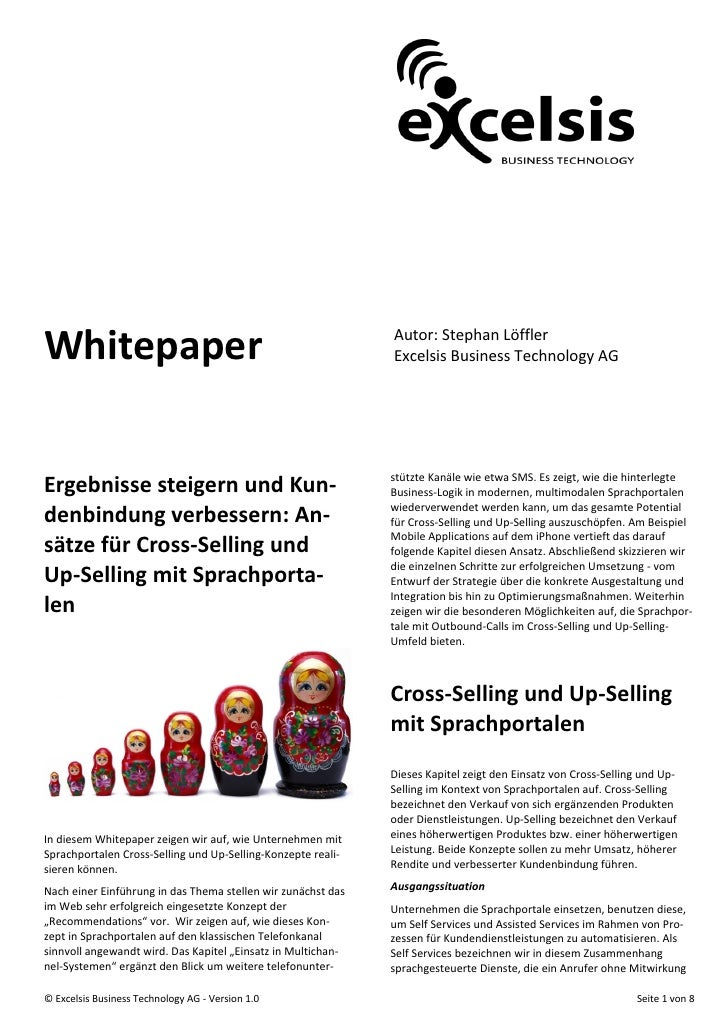 Whitepaper                                                    Autor: Stephan Löffler                                      ...