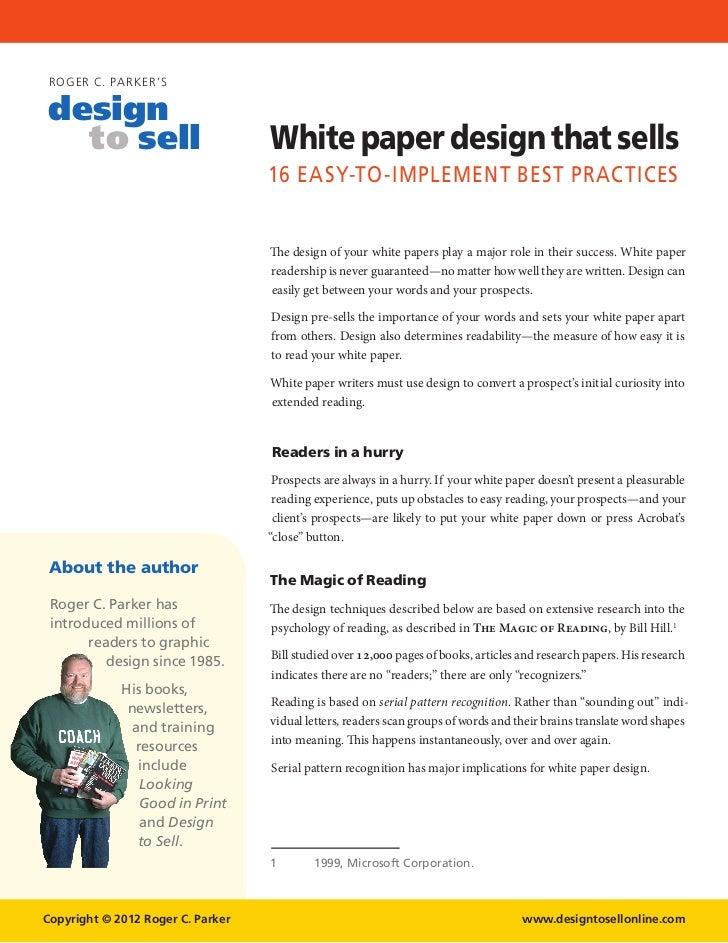 : White Paper Template Word , White Paper Design , White Paper ...