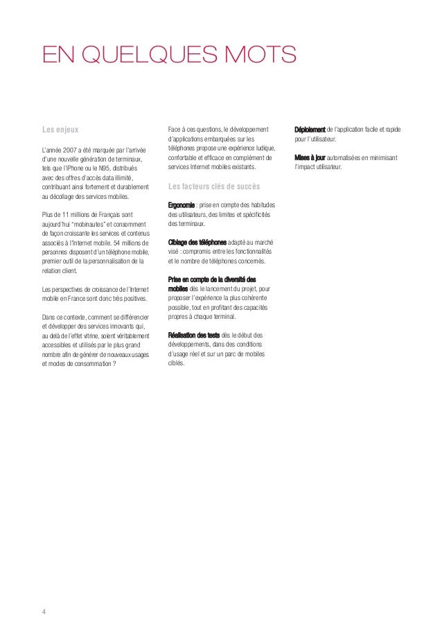 Livre blanc Développement mobile Slide 3
