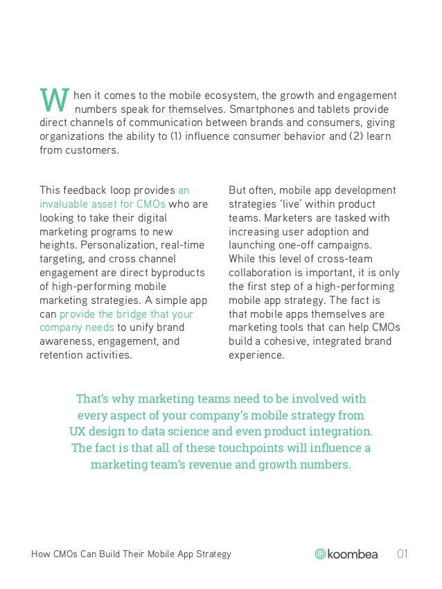 How CMOs Can Build a Mobile App Strategy Slide 3