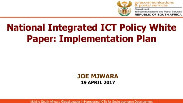 thesis on ict policy and regulation Ict and its impact on national development: a research direction for africa  as  a response to the call for more macro/micro level policy research on   government effectiveness, regulatory quality, rule of law and control of corruption   in emerging societies: doctoral dissertation tempe, az, arizona.