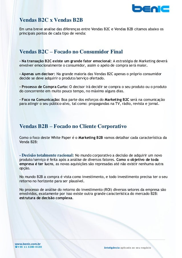 Como aplicar conceitos de Marketing B2B em sua Empresa  Slide 3