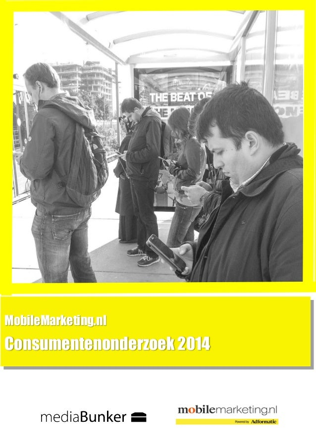 MobileMarketing.nl  Consumentenonderzoek 2014