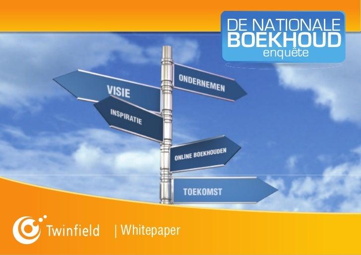 DE NATIONALE               BOEKHOUD                  enquête| Whitepaper