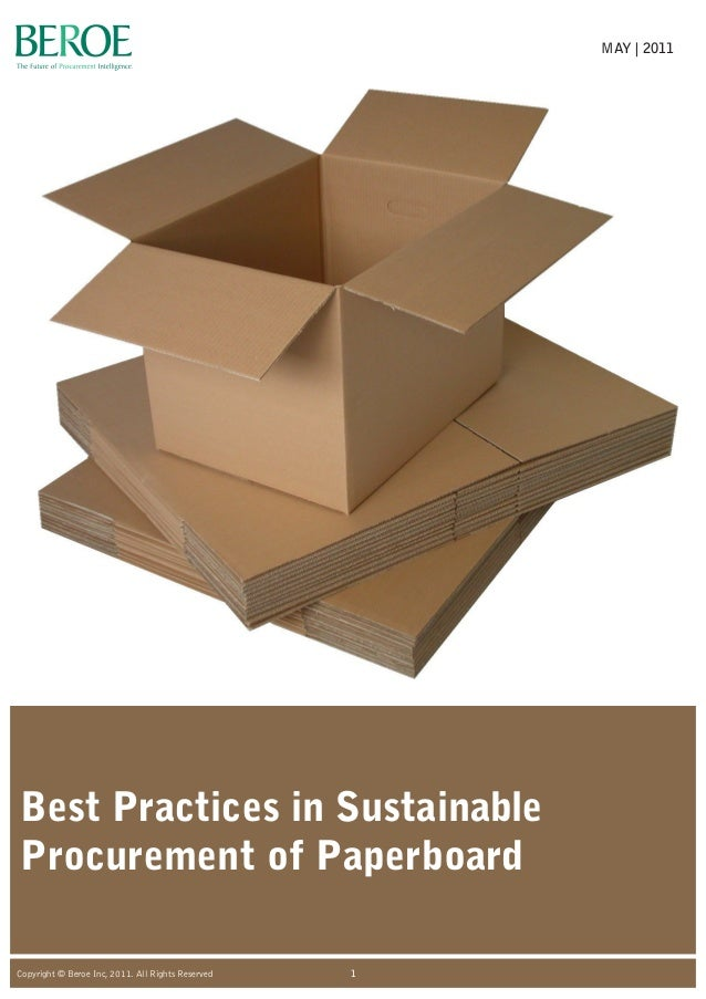 sustainable procurement What policies, standards and good practices for sustainable procurement, and  their impact on trade facilitation, do government decision-makers need to be.