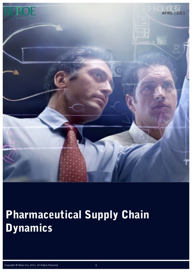 Pharmaceutical Supply Chain Dynamics APRIL | 2011 1Copyright © Beroe Inc, 2011. All Rights Reserved