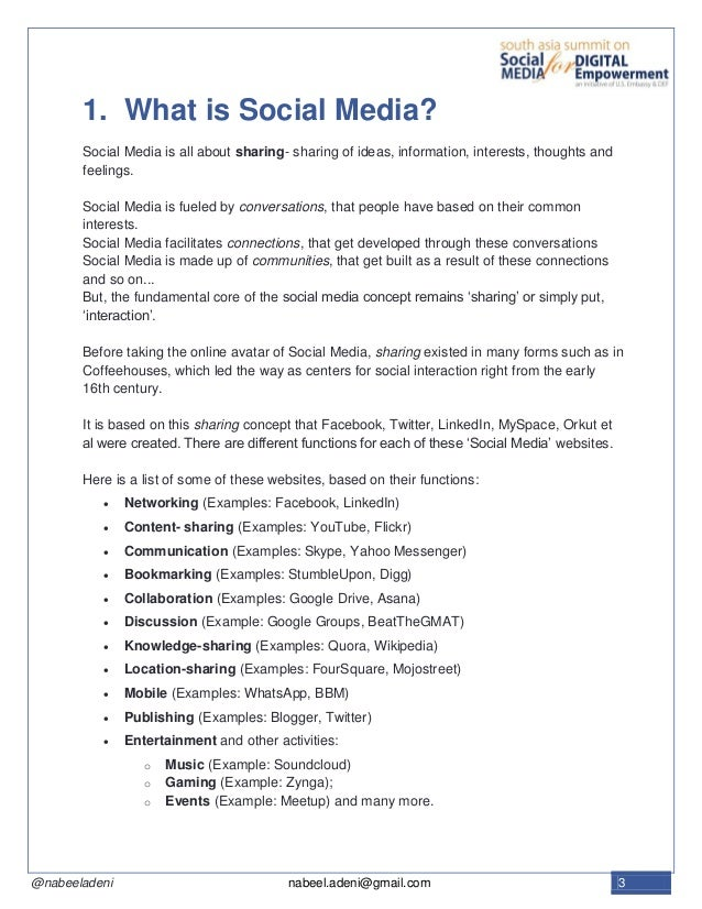 Unraveling The Social Media Conundrum A White Paper On Social Media