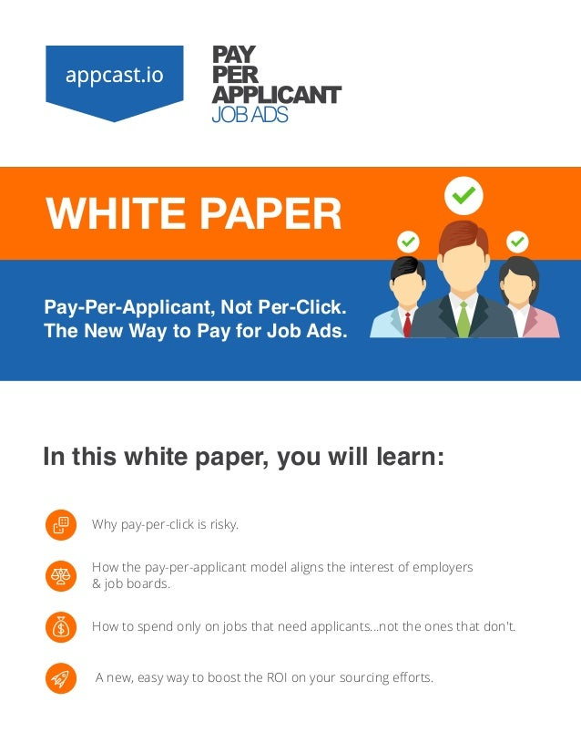 White Paper] Pay-Per-Applicant, Not Per-Click