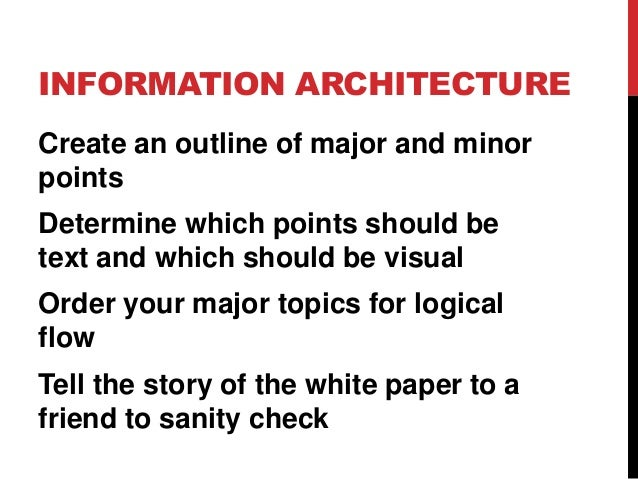 writing successful white papers