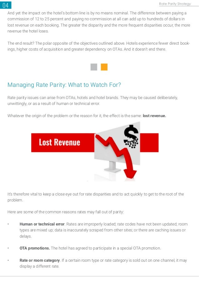 A guide to Rate Parity Strategy (White Paper)