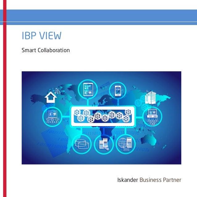 IBP VIEW Iskander Business Partner Smart Collaboration
