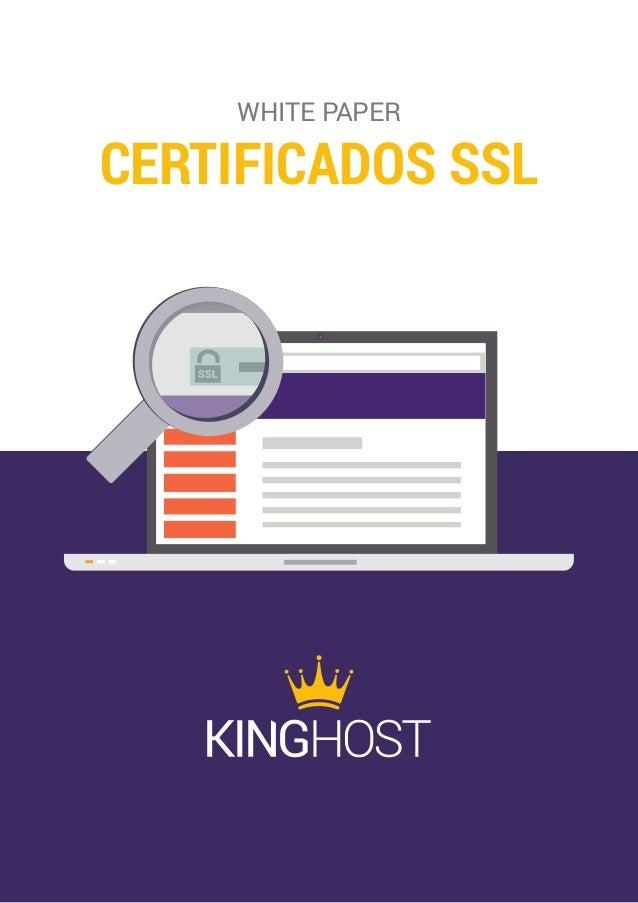 CERTIFICADOS SSL WHITE PAPER