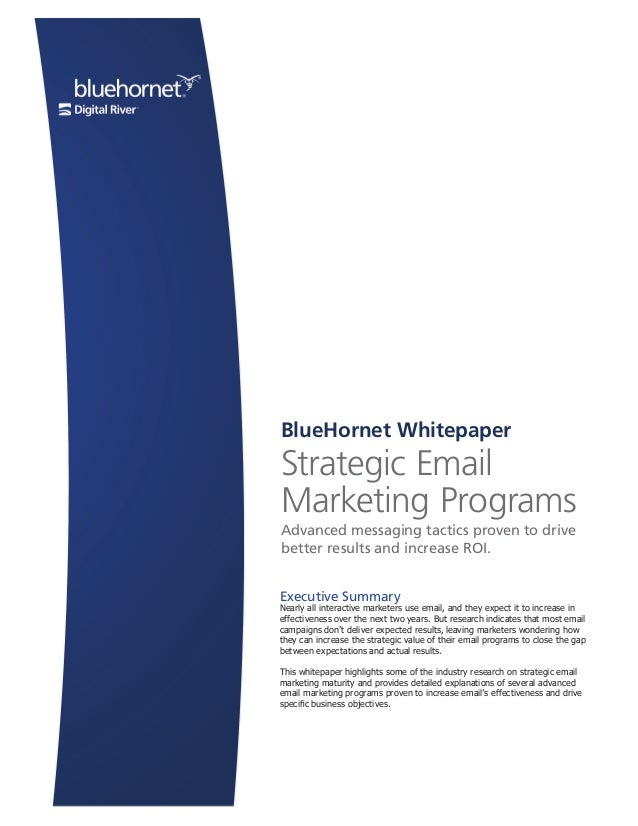 Page 1 ©2011 BlueHornet Networks, Inc. A wholly owned subsidiary of Digital River, Inc. | BlueHornet.com Page 1 ©2007 Blue...