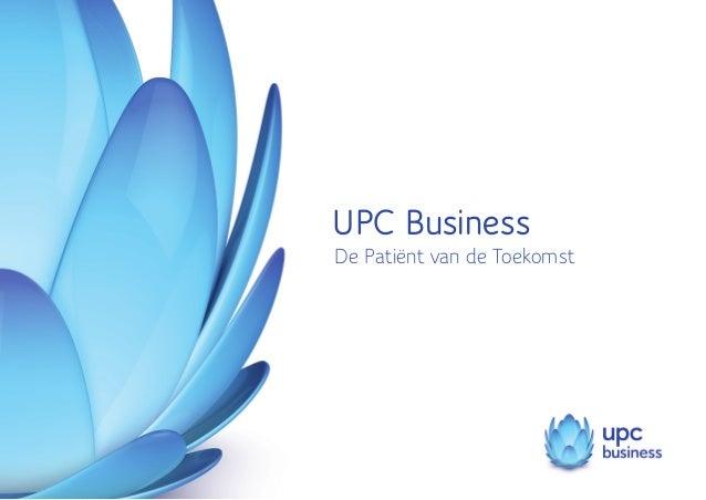 UPC Business De Patiënt van de Toekomst