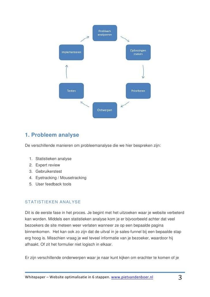 Whitepaper website optimalisatie in 6 stappen Slide 3