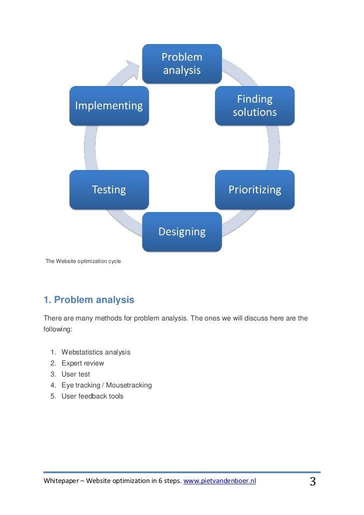 Whitepaper website optimization in 6 steps Slide 3