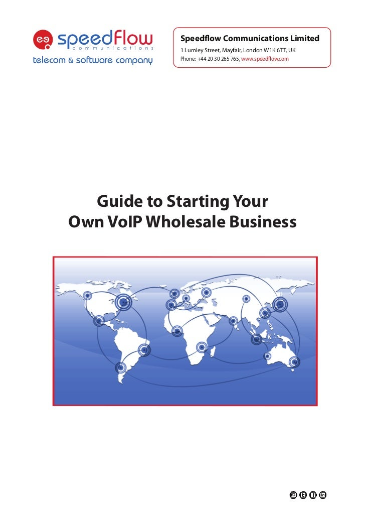 how to start a voip business pdf