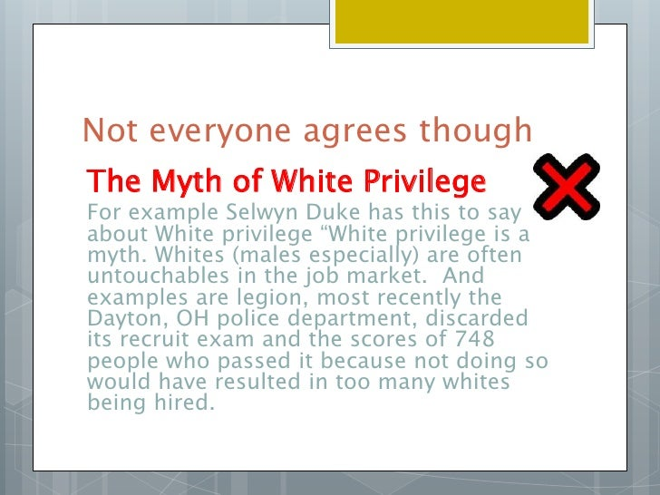 white privilege essay mcintosh Individuals, institutions, and publishers interested in copying my writing on white privilege from: peggy mcintosh white privilege and male privilege.