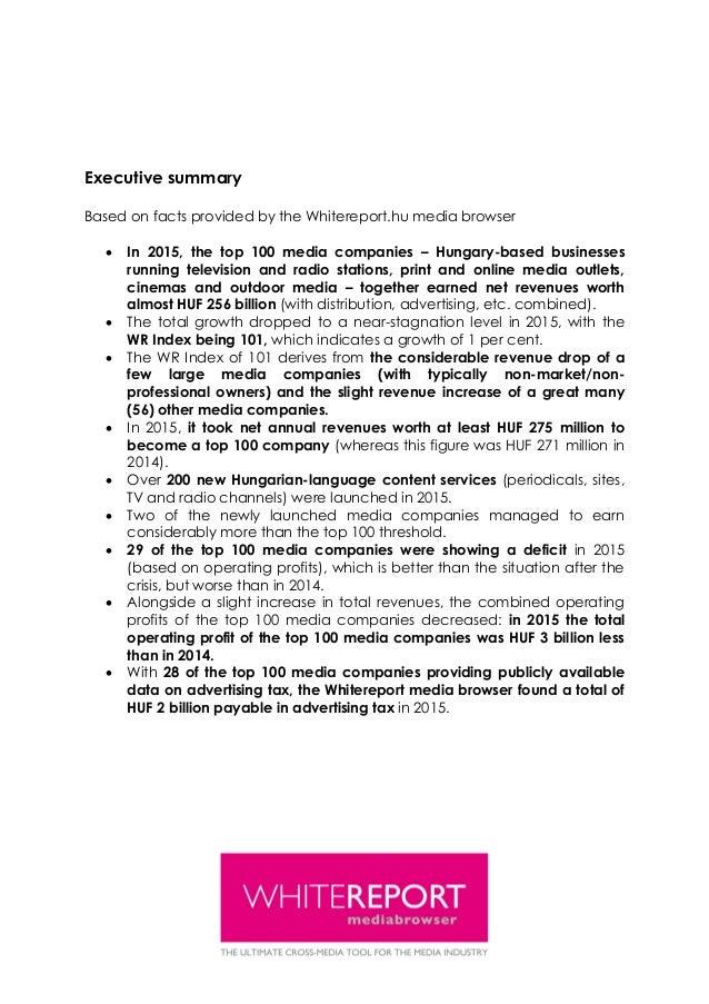Whitereport financial report_2015_160710v_eng Slide 3