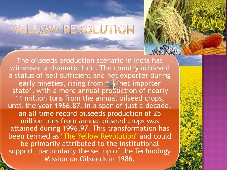 yellow revolution in india Meerut district is one of the districts of uttar pradesh state of india welcome to the district of revolution, may it be the 1857 mutiny or the quit india movement.