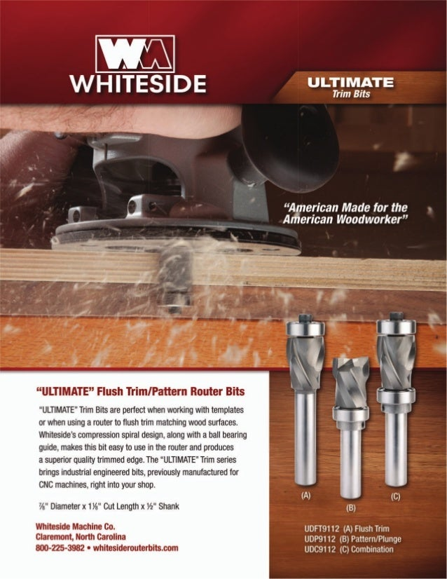 Whiteside Machine Company Router Bit Catalog