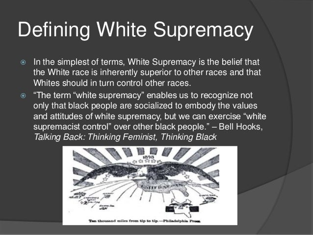 A look at white and black supremacy groups in america