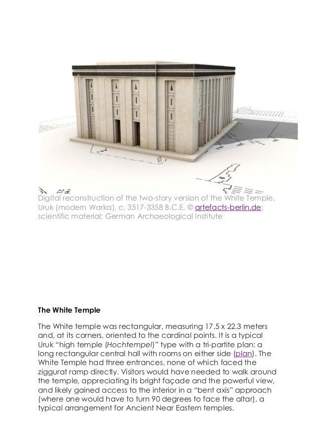 white temple ziggurat