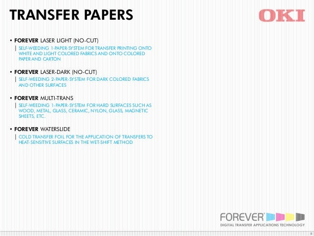 White Toner Transfer Paper From Forever The Best And More