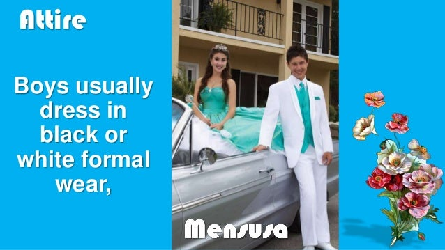 White tuxedo for prom from MensUSA