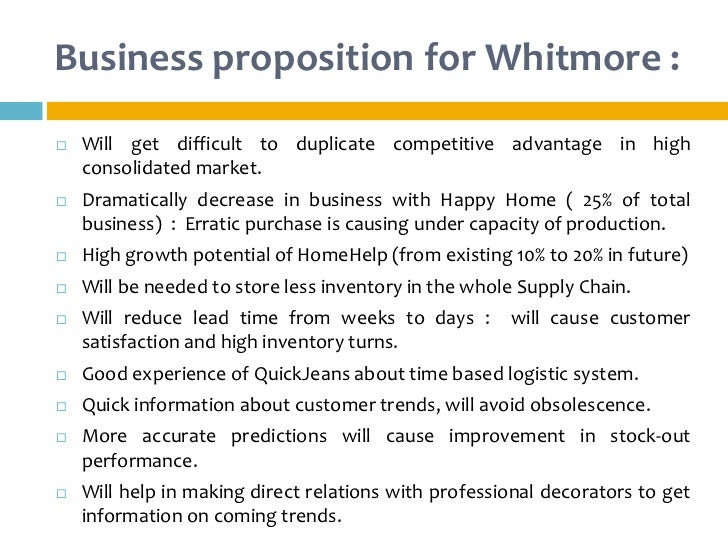 whitrnore products time based logistics at work For businzw performarra x functiorr informarw t7 academt :r ljsing is/it to gain )0 competitive advantage l5r -nphasis which is exerted on information technology in organisations has.
