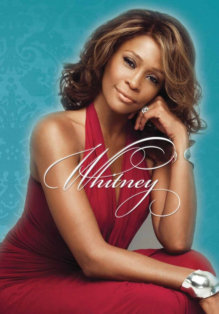 Whitney houston 39 s official funeral program for The whitney