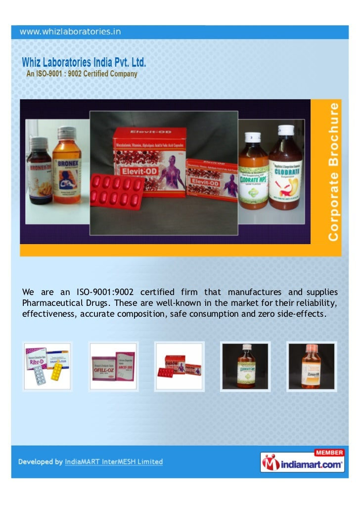 We are an ISO-9001:9002 certified firm that manufactures and suppliesPharmaceutical Drugs. These are well-known in the mar...