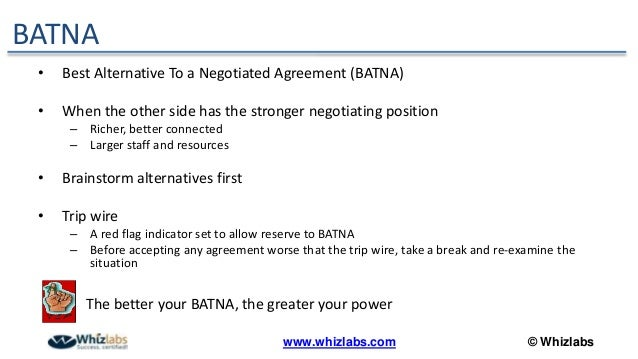 Negotiation Skills For Business Analysts And Project Managers