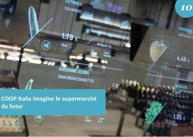 COOP Italia imagine le supermarché du futur 10