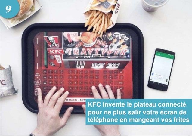 KFC invente le plateau connecté pour ne plus salir votre écran de téléphone en mangeant vos frites 9