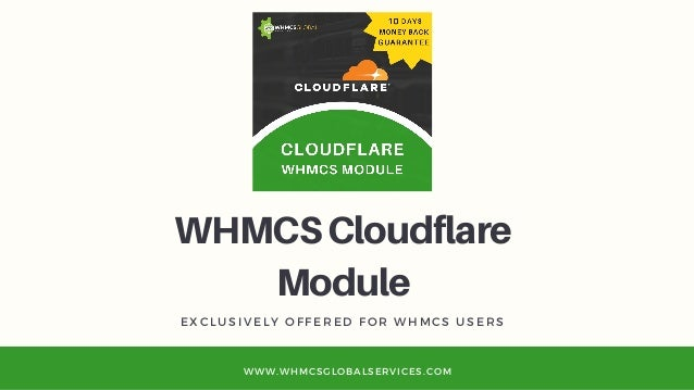 Best WHMCS Cloudflare Module - With Auto Provisioning