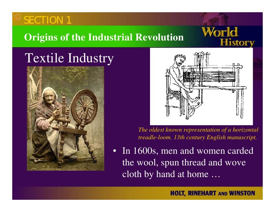great britain the root of the industrial revolution Origins of the industrial revolution the first industrial revolution began in great britain after 1750 there were several factors that combined to make great.