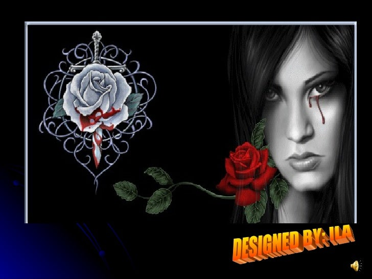 When a gal crys.. DESIGNED BY: ILA