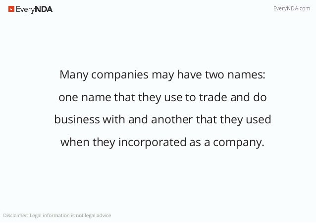 Who can sign an nda on behalf of a company